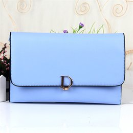Wholesale Preppy Style Cover Clutch Bag Women Leather Handbags High Quality PU Leather Shoulder Bags Long Purse Small Messenger Bag