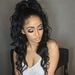 Top Quality glueless full lace human hair wigs brazilian lace front wigs for black women with baby hair natural hairline