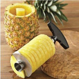 Wholesale Hot new gadgets fruit peelers zesters Pineapple Corer Slicers peeler Parer Cutter Kitchen Easy Tool cooking tools