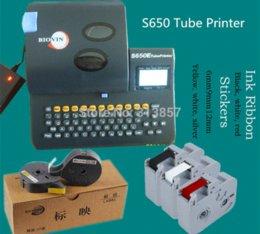 Livraison gratuite cassettes câble id imprimante étiquette de bande ls-06w blanc appliqué à BIOVIN machine de lettrage électronique S650, S700E à partir de etiquette électronique fournisseurs