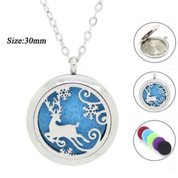 With chain as gift! magnetic silver perfume locket 316l stainless steel diffuset locket necklace aromatherapy locket pendant wholesale