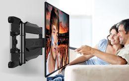 "NB P6 40""-70"" Flat Panel LED LCD TV Wall Mount Full Motion 6 Swing Arms Monitor Holder Frame"