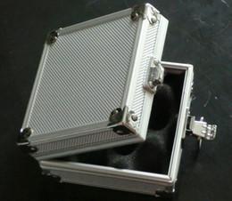 5Pcs Wholesale Silver Tattoo Machine Case Alloy Aluminum Case Box For Tattoo Gun Machines Supply kit