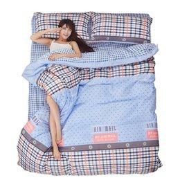 Wholesale Printing Bedding Set Fashion Bed Sheet Duvet Cover Pillowcase Winter Cotton four thirds Bed Set Comforter Bedding Setsking queen