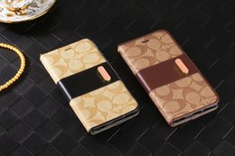 Wholesale 2016 New Luxurious Noble Fashion Wallet Flip Case For Apple iPhone s s SE plus quot quot Brand Leather Capa Gift Cover