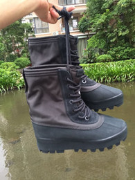 Wholesale Chunky Winter Boots - Kanye West 950 Boots Women, Winter Genuine Leather 950 Shoes Womens, Without Box size 40-45