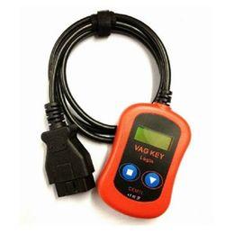 Wholesale DHL VAG PIN Code Reader Key Programmer Device via OBD2 vag key login high quality vag key programmer