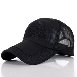 Wholesale The new Miss Xia Jinan outdoor leisure sports quick drying UV shade nets cap baseball cap support