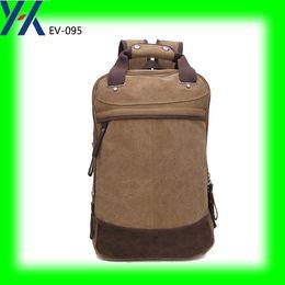 Homme affaires, bureau, utilisation, 210d, polyester, ordinateur portable, compartiment, élevé, classe, nylon, webbing, poignée, toile, sac à dos, sac à partir de sac d'affaires fournisseurs
