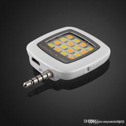 Meilleures lumières de led photo en Ligne-Selfie Lampe de poche: Flash de téléphone portable Mini Spotlight Anneau de remplissage d'éclairage Lampe de poche ampoule pour les meilleures photos Vidéo dans l'obscurité