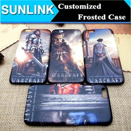 Wholesale Customized Famous Game Character Case Frosted Hard PC Back Cover for iPhone s Plus s se