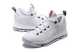 Promotion kds blanc Kevin Durant 2016 KD9 IX oreo Gris Zéro hommes de basket-ball Chaussures kd 9 Oreo Noir Blanc Elite chaussures de sport mens KDS 9S baskets