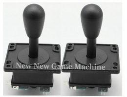 Wholesale 2pcs Pack High Quality Amusement Cabinet Games Machine Parts Accessory Black Arcade Joysticks Stick