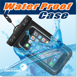 Wholesale For Iphone Dry Bag Waterproof bag PVC Protective Mobile Phone Bag Pouch With Compass Bags For Diving Swimming For iphone S7 NOTE