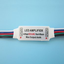 RGBW LED Amplifier 5-24V For Led Strip Light Bulb Lamp DIY 10pcs lot