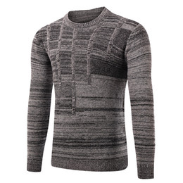 2017 new adult men's casual long neckPullover support fashion warm sweater Shirt wool customization and wholesale free shipping 3 colors