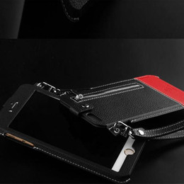 Wallet Leather Case Cover Pouch With The lanyard for iPhone 5S 6 6S PLUS Aplle 6 6s 4.7 inch Cases