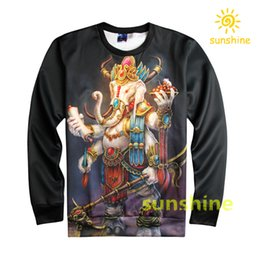 Wholesale 2016 August new arrival high quality china silk made D print hoodie womens mens sweatshirts sizes inc bargain price