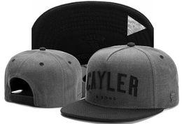 Wholesale Fashion Cayler Sons snapbacks Men s Women s Basketball caps All Teams Football hats Hip Hop adjustable cayler sons snapback Base