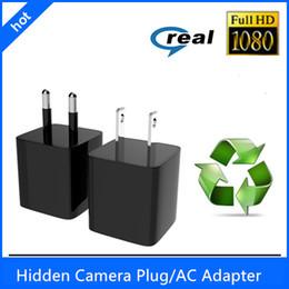 2016 nuevo Mini 1080P 8GB / 16GB / 32GB HD cámara ocultada vendedora caliente del ESPÍCULO DVR de la cámara US / EU Plug Power Adapter Video Recorder Camera desde cámara espía venta caliente fabricantes