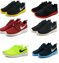 Wholesale On Sale Roshe Run One Womens Mens Running Shoes Cheap Top Quality Lightweight Discount Roshes London Olympic Athletic Shoes
