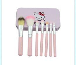 Wholesale HOT sells in UAE Hello kitty NAKED4 cosmetic brush set set