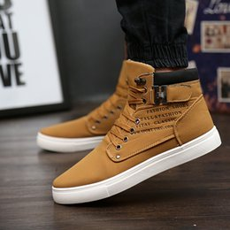 2017 Hot Men Big Size Buckles Canvas Shoes Male Casual Plaid Cotton Lining Leather Ankle Boots Spring Autumn Man Fashion Sneakers Flats