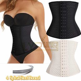 Wholesale Good Quality Bodysuit Women Waist Trainer Slimming Shapewear Training Corsets Cincher Body Shaper Bustier