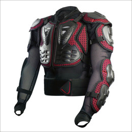 Wholesale Jackets Scoyco AM02 Motocross Armor Full back Protector Gears Racing Protective Motorcycle Body Guards armadura equipement