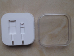 Hotsale New Plastic Retail Boxes Gift Package For Iphone5 5s 6 Cable Also Have Box For Iphone4 4s