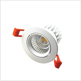2016 New model LED Dimmable Downlight COB 6W 9W 12W 15W 18W 24W LED Spotlight LED decoration Ceiling Lamp AC85-265V LED recessed light