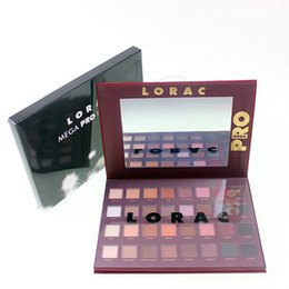 Wholesale Cheap Matte Eyeshadow Palettes - LORAC Holiday Mega PRO Eye Shadow Palette 32 Color Makeup Eyeshadow Limited Edition Brands Cosmetic Set DHL Free Shipping Cheap Price