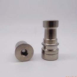(wholeasle best price) GR2 Titanium E Nail D Nail infiniti domeless titanium nail fit smoking glass pipe