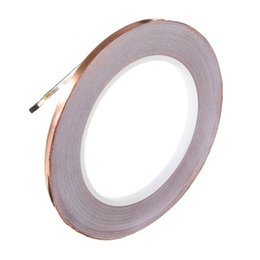 Wholesale New Arrival Top Selling Roll MM X M Single Conductive Copper Foil Tape Strap Shielding for Guitar Accessories