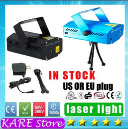 Wholesale for sample MW Mini Red Green Moving Party Laser Stage Light laser DJ party light Twinkle V Hz With Tripod lights