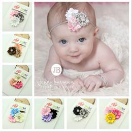 Fashion Baby Hair Accessories Sun Flower elastic headbands Girls Hair Band Kids Headband Babies Toddler Head Band