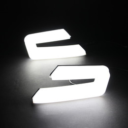 Wholesale Car DRL kit for Honda Accord Daytime Running light bar fog lamp bulb light for auto car accord led