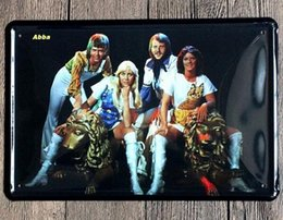 Wholesale 2016 Sale Home Decor Wall Stickers Abba Signature Posters Decorative Sheet Painting Crafts And Gifts