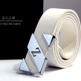 Wholesale 2016Zed smooth buckle lucci belts for men Designer lucci belts men high quality leather audi belt