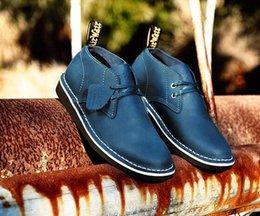 Acheter en ligne Air en cuir libre-Livraison gratuite vente chaude homme en cuir véritable chaussures de plein air chaussures mode casual hommes chaussures automne hiver, size38-46
