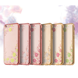 Soft TPU Cell Phone Cases Transparent Phone Cover with Flowers for Chinese Brand Phone Huawei P9 Mate8 22
