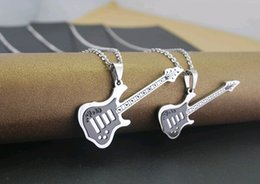 Eternal memory of BEYOND the guitar music gift lovers necklace fashion necklace pendant cheap high quality jewelry STN085