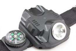 flashing watch Night run special equipment LED lights glare lighting glare wholesale watch Flashlight Flashlight