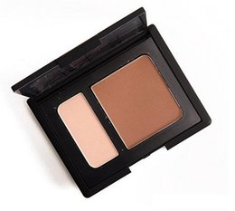 Wholesale-2016 Newest Makeup Face Powder Foundation NAS CONTOUR BLUSH 2 colors Bronzers & Highlighters makeup Full Size DHL Free