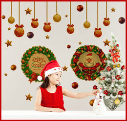 Christmas Wall Stickers for Window Door And Living Room Removable Wall Arts Decals Home Decoration Product Code : 90-3013
