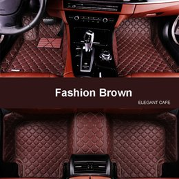 Wholesale Car floor mats fit Mercedes Benz C E S R GIK ML class CLA GLA A160 A180 B200 B180 CLA260 CLS C180 C200L E200 E30 D car styling carpeti