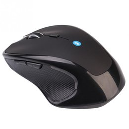 Wholesale Durable Wireless Mini Bluetooth Optical Game Mouse Agile Mice Black Laptop PC