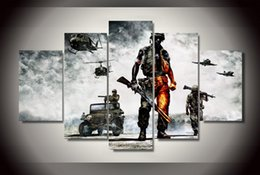 Wholesale HD Printed battlefield bad company Painting Canvas Print room decor print poster picture canvas ny