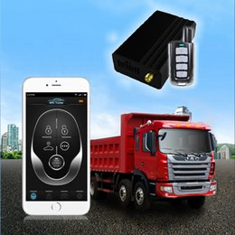 Wholesale Top quality GSM GPS Vehicle Car Tracker With Android IOS Apps Quad Band Mini GPS Tracking System with Remote Controller NTG03