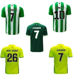 Wholesale 2016 Real Betis home soccer jerseys adult tops men de foot maillot best quality uniform training suits Real Betis jersey